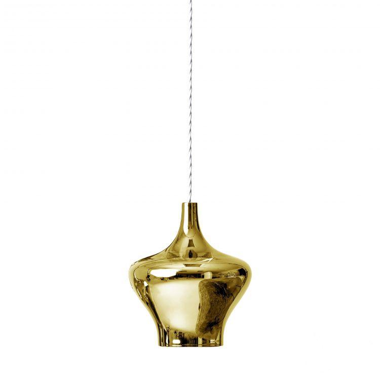 Nostalgia Medium lampa wisząca 9W LED 2700K 230V złota-chrom