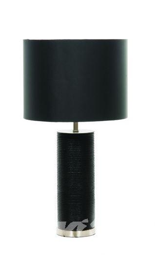 RIPPLE BLACK STOLOWA LAMPA 1X60W E27 + ABZUR HQ/CY35-2015