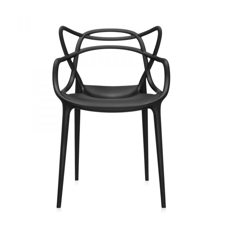 Masters krzesło 57x84x47cm czarne