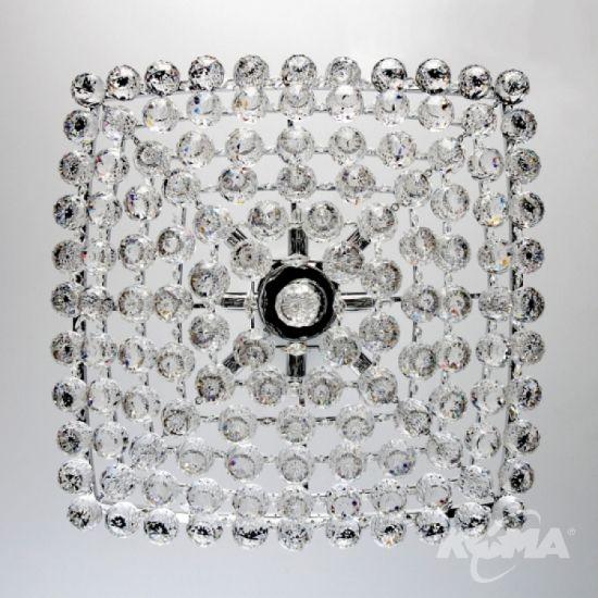 B681 oprawa wiszaca 8x60W G9 krystaliczny