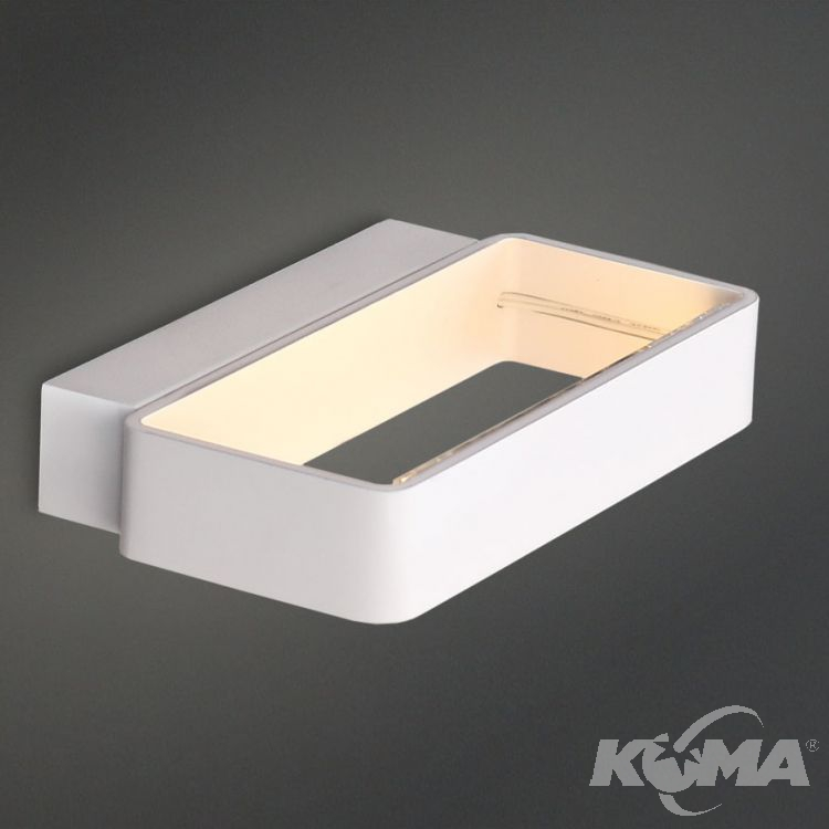 Aero kinkiet LED 6x1W 230V biały