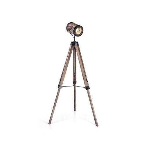 Torchio lampa podłogowa 1x60W E27 230V drewniana