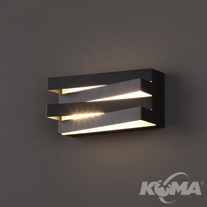Araxa kinkiet 24x0.5W LED czarny