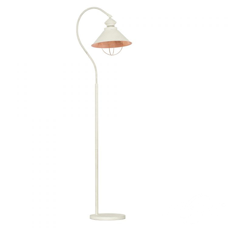 Loft Antique lampa podłogowa 1x60W E27 230V ecru