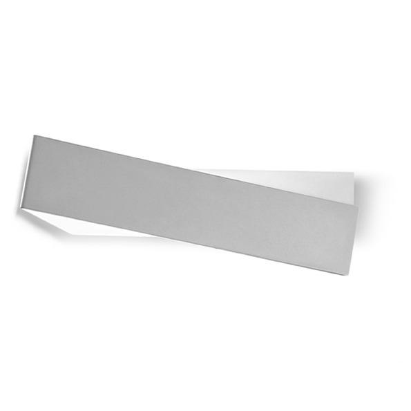 Zig zag kinkiet 1x57W E27 l43cm aluminium