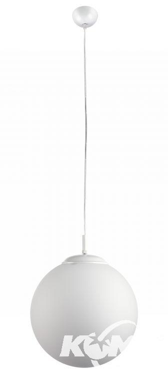 Sfera l lampa wisząca 3x60W E27 45cm biały