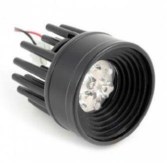Thorn 3 led 630 ma 6W power multichip 15st IP45 czarna, biala ciepla
