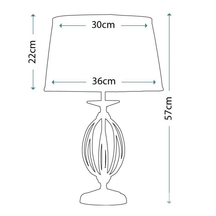 lampa stołowa Agean ELSTEAD