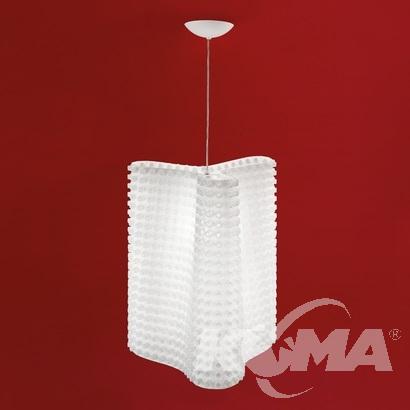 S lampa wisząca Hip LEUCOS
