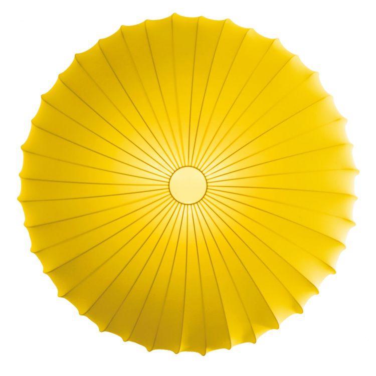 Muse plafon 1x60W E27 230V żółty