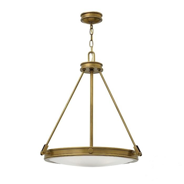 Collier lampa wisząca 4x60W E14 230V