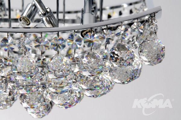 B681 plafon 4x60W G9 32cm krystaliczny