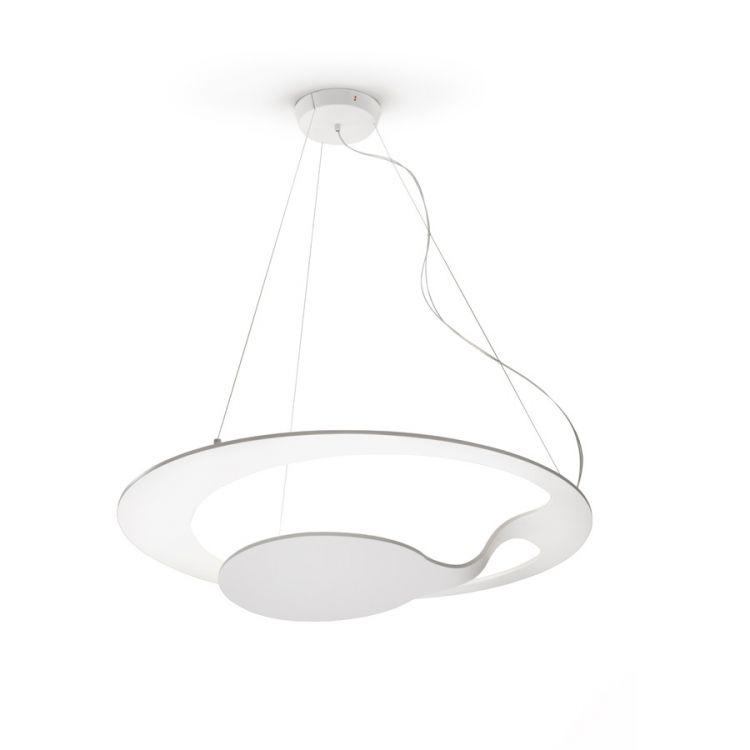 lampa wisząca biała LED Glu FABBIAN