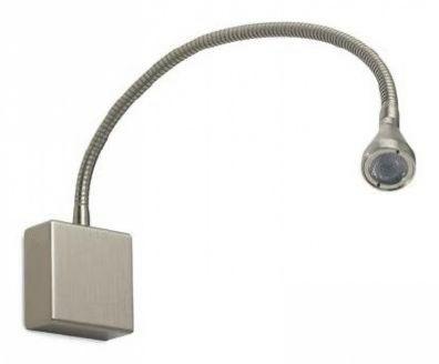Flex 1 led 350 ma 1W power IP40 50st nikiel, biala ciepla