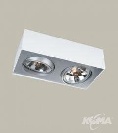 Bloq oprawa oświetleniowa 2xs111/50W biała