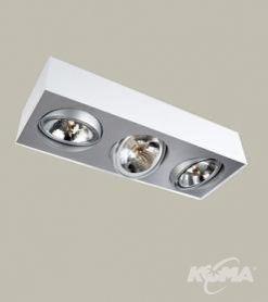 Bloq oprawa oświetleniowa 3xs111/50W biała