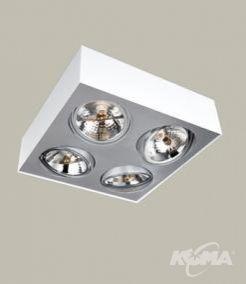 Bloq oprawa oświetleniowa 4xs111/50W biała