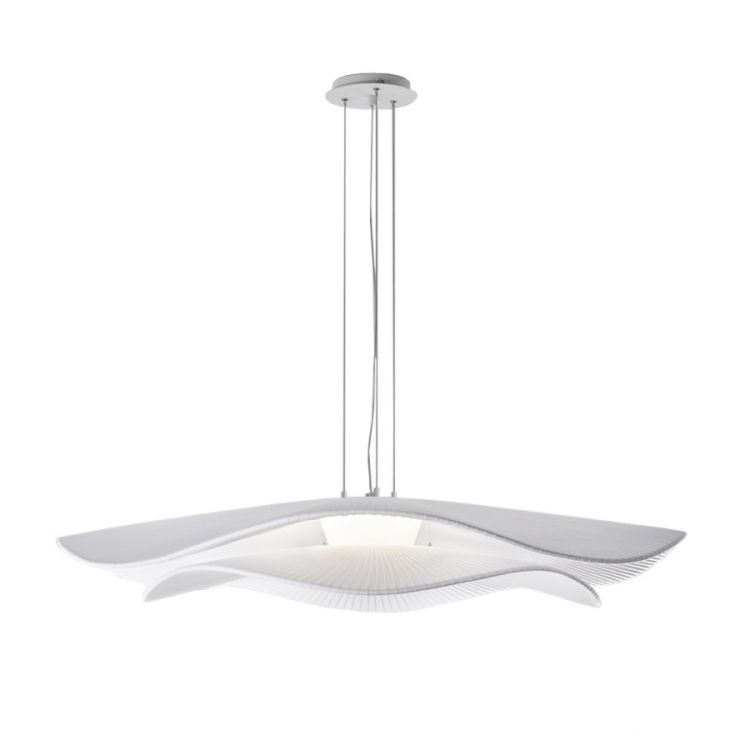 lampa wisząca biała Mediterrània BOVER