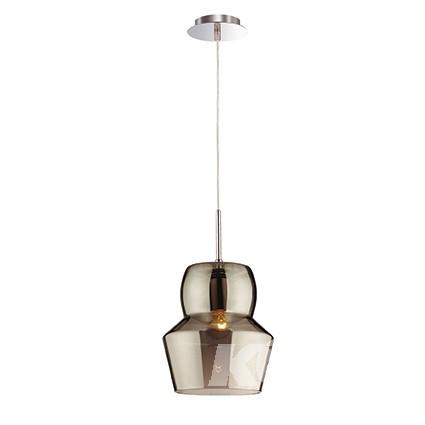 Zeno lampa wisząca 1x60W E27 22cm szary