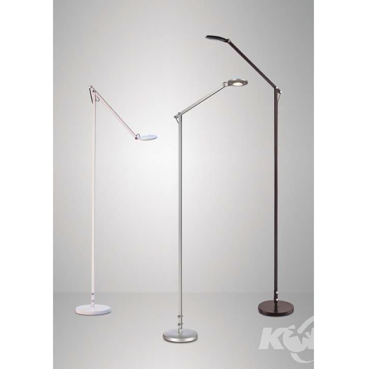 Natalia lampa podłogowa 6W LED 5000K srebrna