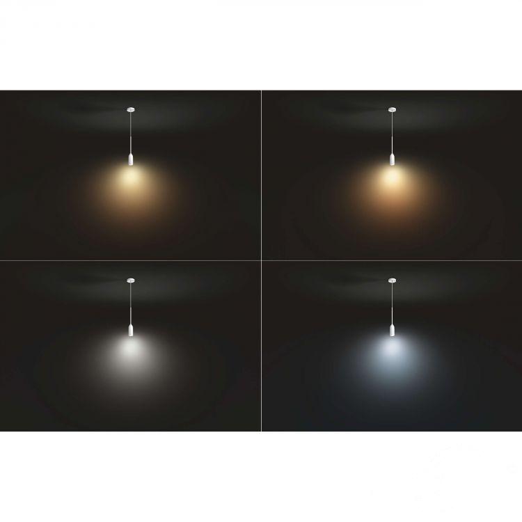 Devote Hue lampa wisząca 1x9W E27 230V biała
