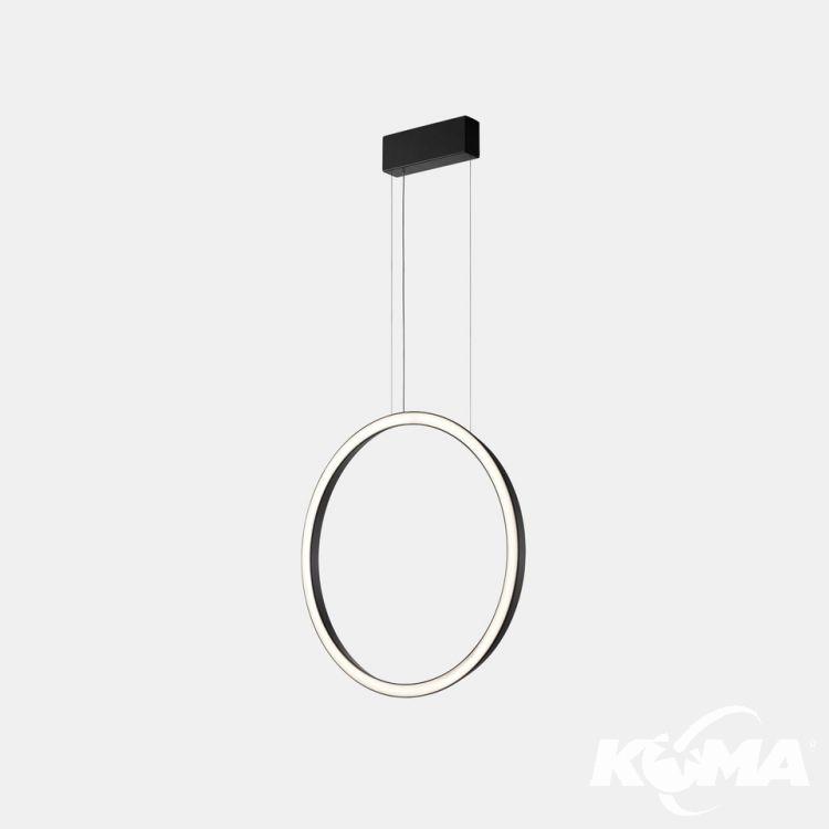 lampa wisząca czarna Circular_vertical_side LEDS C4