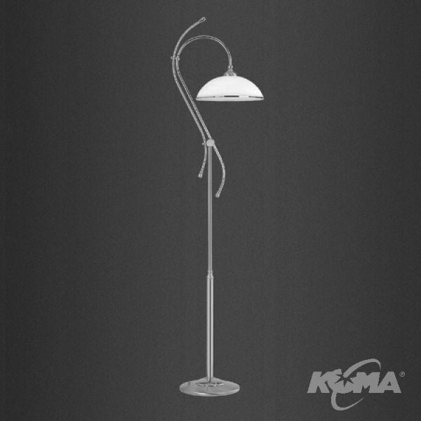 Vito lampa podlogowa 1x60W E27 platyna