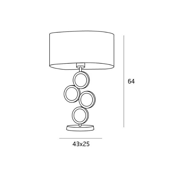 lampa stołowa Olimpic MAXlight