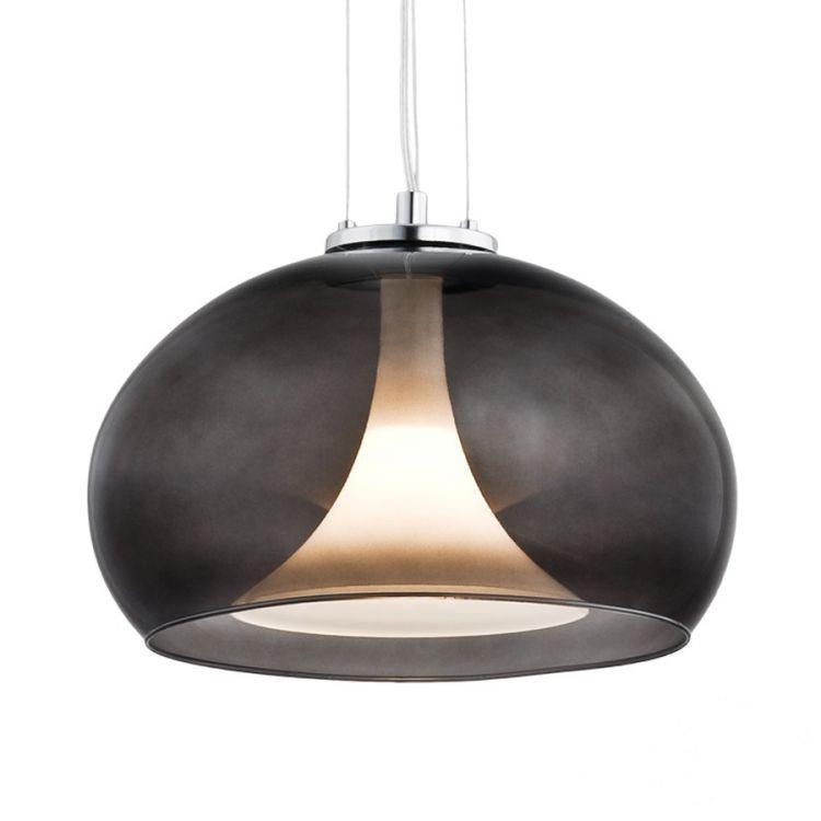 Bassa lampa wisząca 1x60W E27 230V grafit