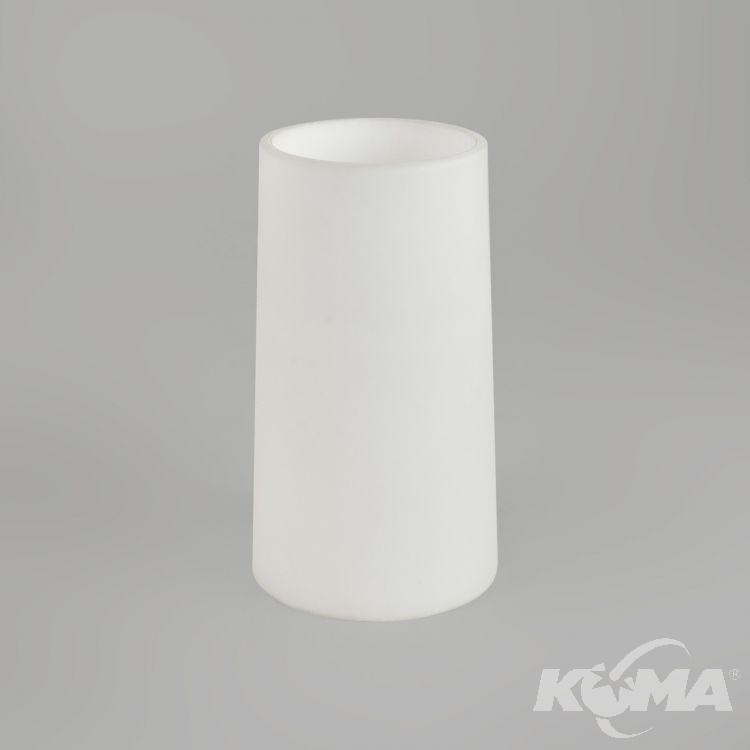 Cone 240 abażur białe szkło