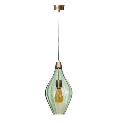 optic lampa wisząca zielona Savai'i FAMLIGHT