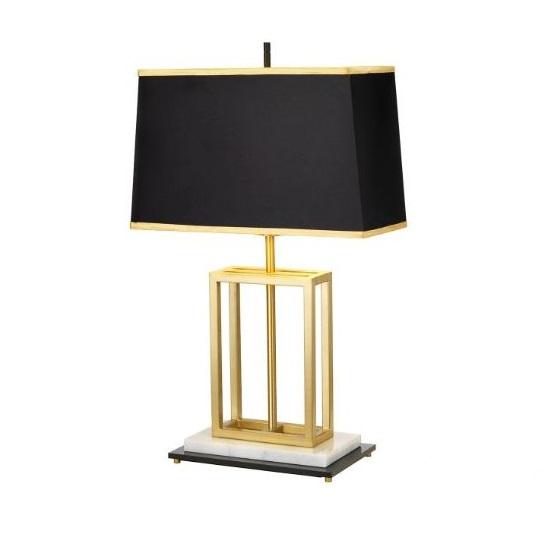 lampa stołowa mosiądz Atlas ELSTEAD
