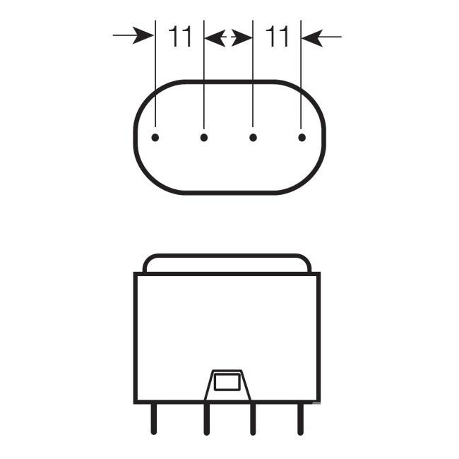 kompaktowa Dulux L Świetlówka OSRAM