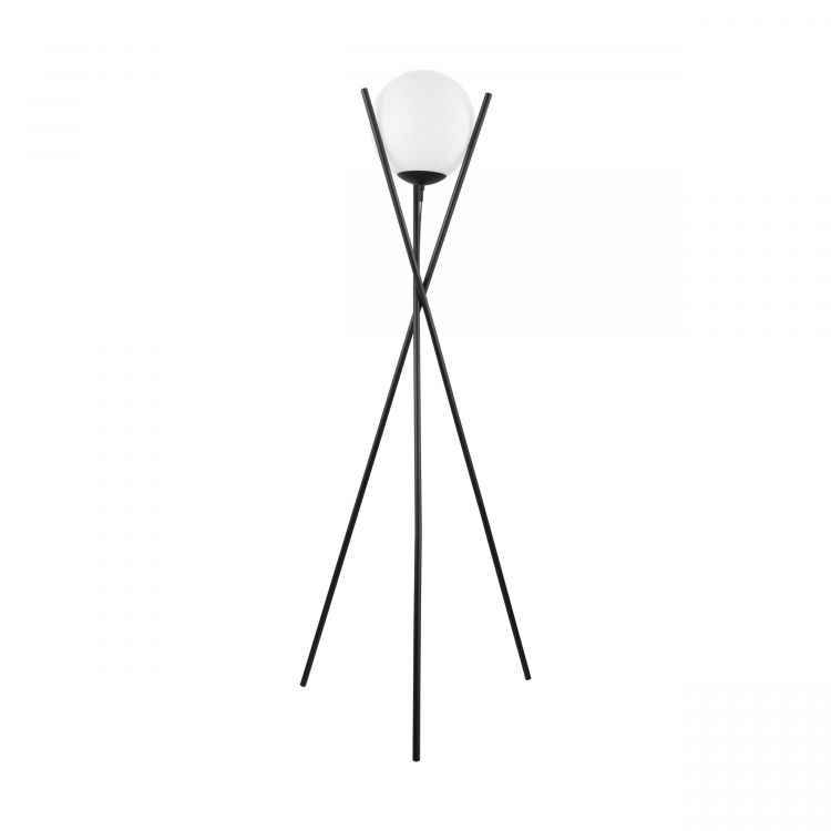lampa stojąca czarna/biała Salvezinas EGLO