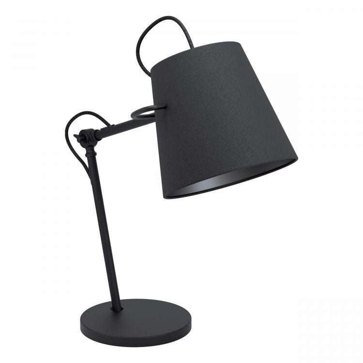lampa stołowa czarna Granadillos EGLO