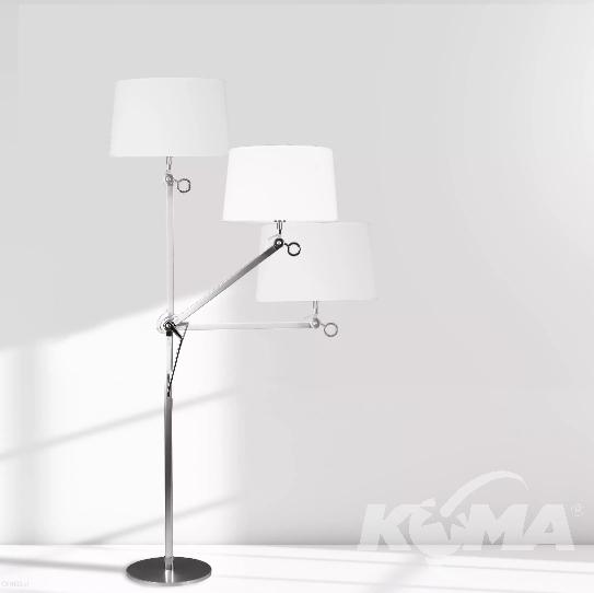 lampa podłogowa stojąca duża Terra MAXlight