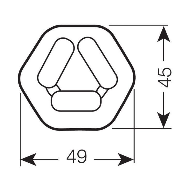 kompaktowa Dulux T/E Świetlówka OSRAM