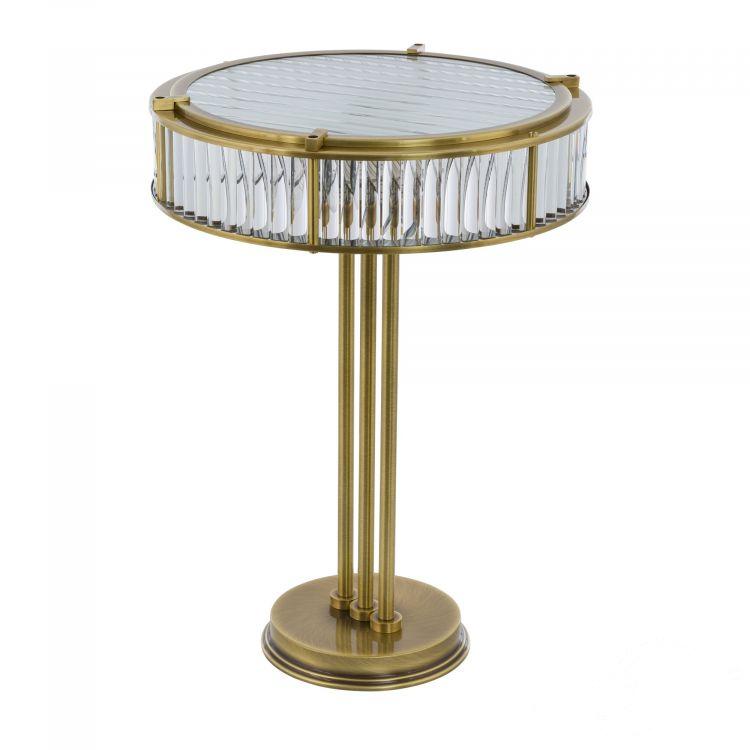 lampa stojąca gabinetowa patyna Lavone KUTEK