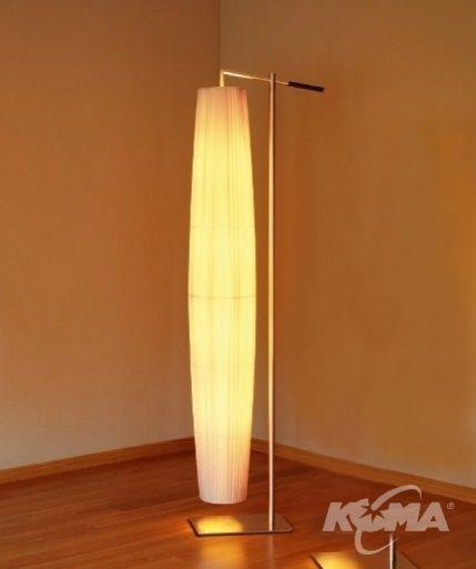 Maxi 01 lampa podlogowa 4x60W E27 ciemna skora/kremowy