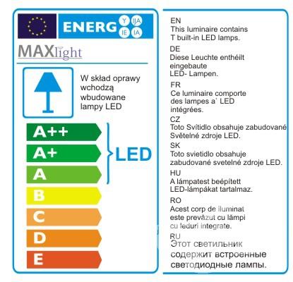 kinkiet LED Amur MAXlight