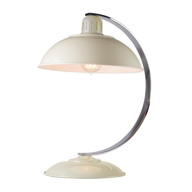 Franklin lampa stolowa 1x60W E27 230V kremowa