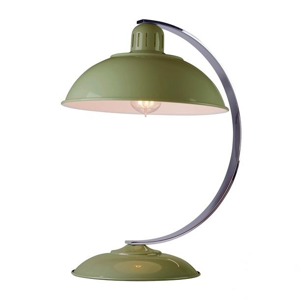 Franklin lampa stolowa 1x60W E27 230V zielona