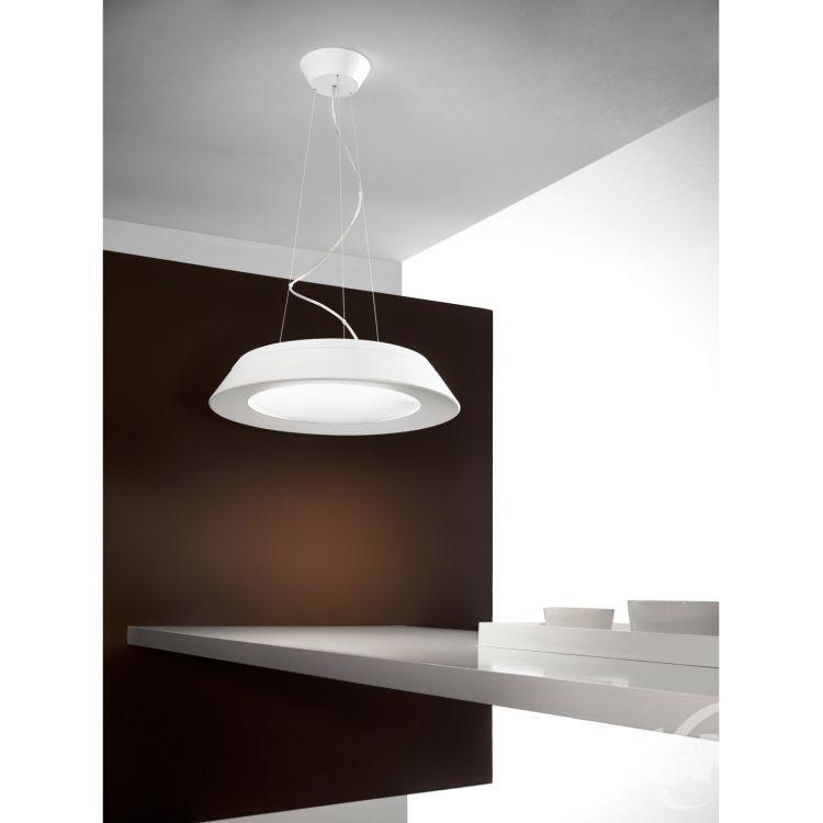 P2 lampa wisząca biała Conus Linea Light