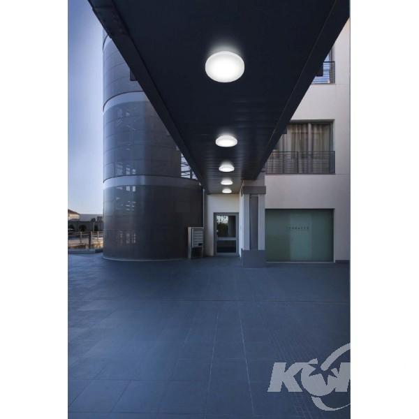 Plate plafon zewnętrzny 6W LED 3000K 230V biały