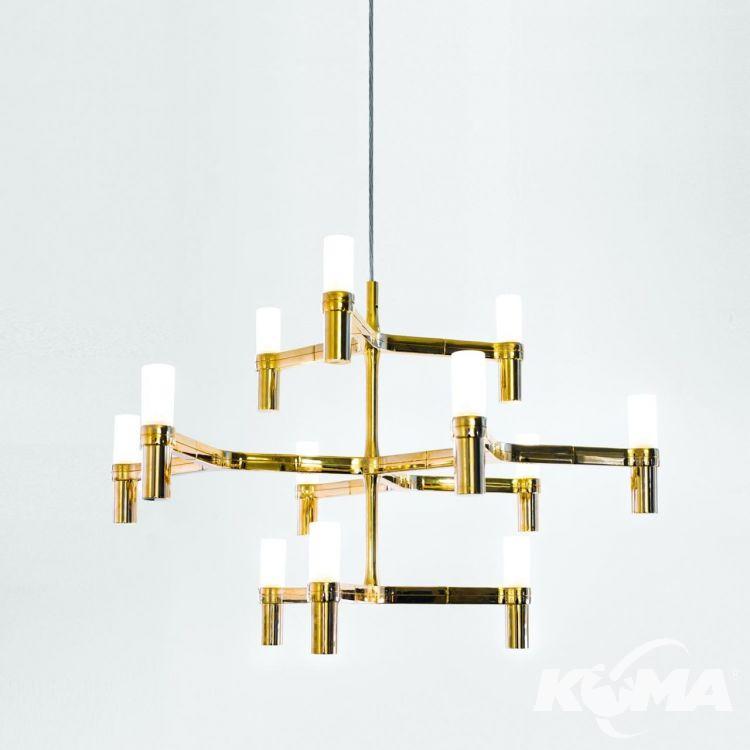 minor lampa wisząca złota Crown NEMO