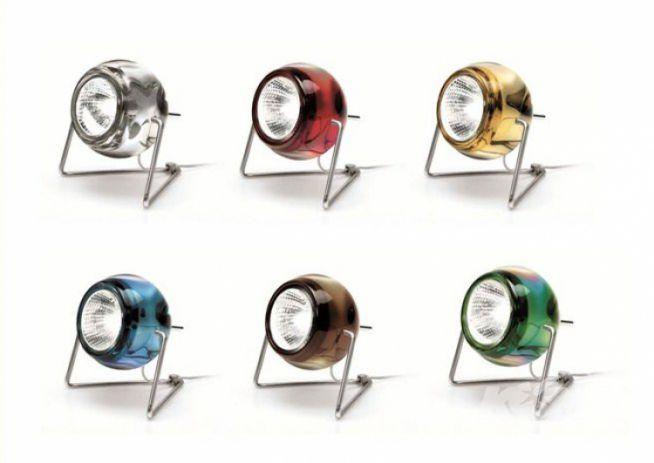 Beluga color lampa stolowa 1x50W GU10 krystaliczny