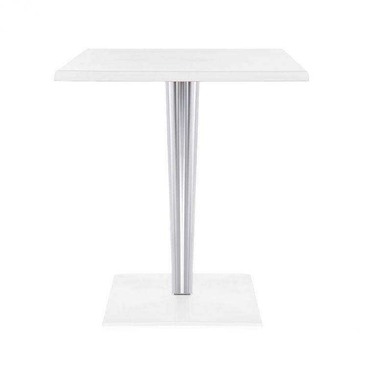 TipTop Quadrato stolik biały połysk