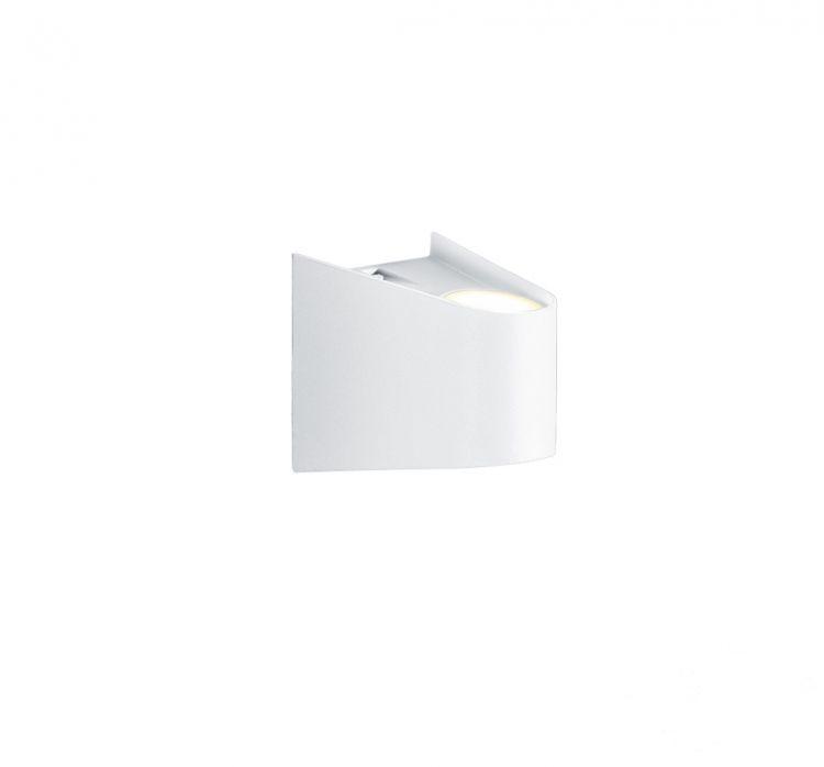 Sava kinkiet LED 2x4W biały