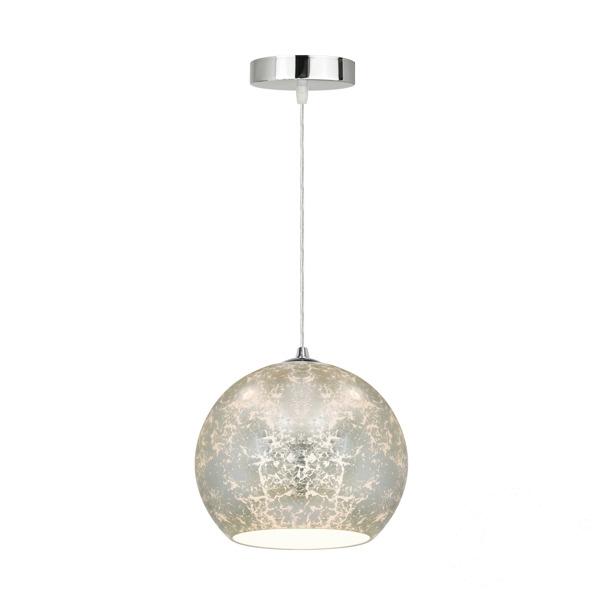 Sines lampa wisząca 1x60W E27 230V srebrna