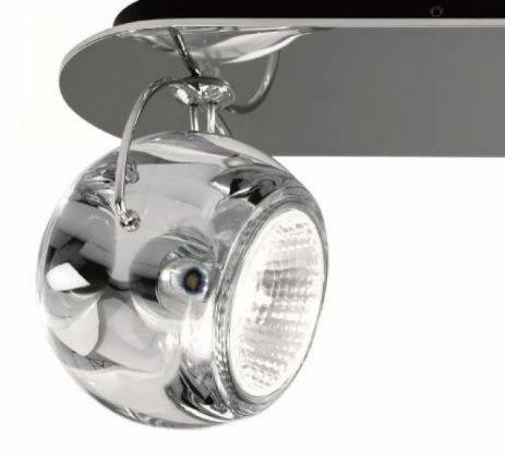 Beluga colour kinkiet/palafon 2x75W GU10 cristallo